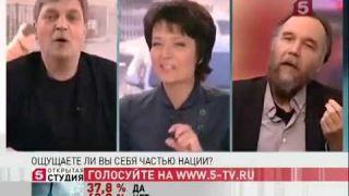 Александр Дугин: в 90-е годы мы были с вами Александр Глебович по одну сторону баррикад