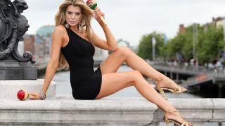#Сексуальное очень #короткое #платье от Ксении #Демидовой