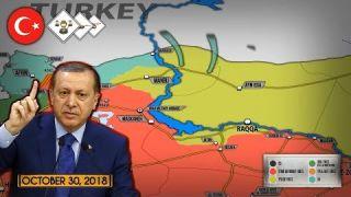 31 октября 2018. Военная обстановка в Сирии. Эрдоган объявил о готовности к операции против СДС.