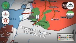 20 апреля 2018. Военная обстановка в Сирии. Сирия передала России 2 неразорвавшиеся ракеты НАТО.